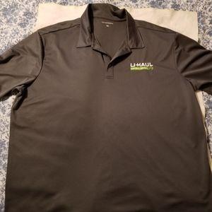 Mens 3X Short Sleeved Polo Top w/U-Haul Logo